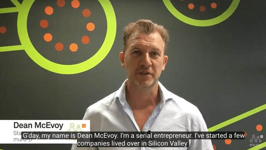 Dean McEvoy Startup Advisor muru-D