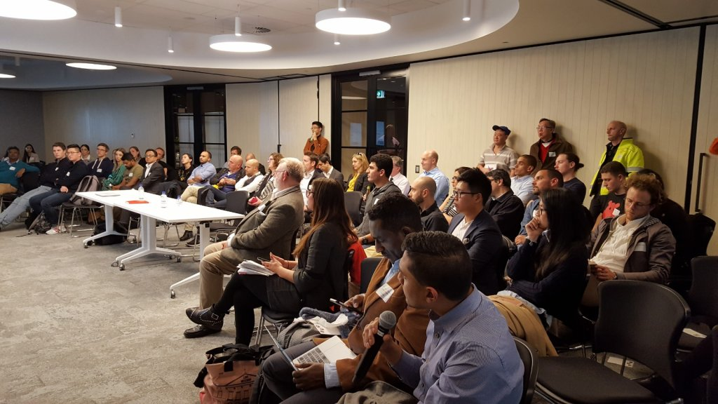 muru-D Golden Ticket Pitch event at Sydney Startup Hub