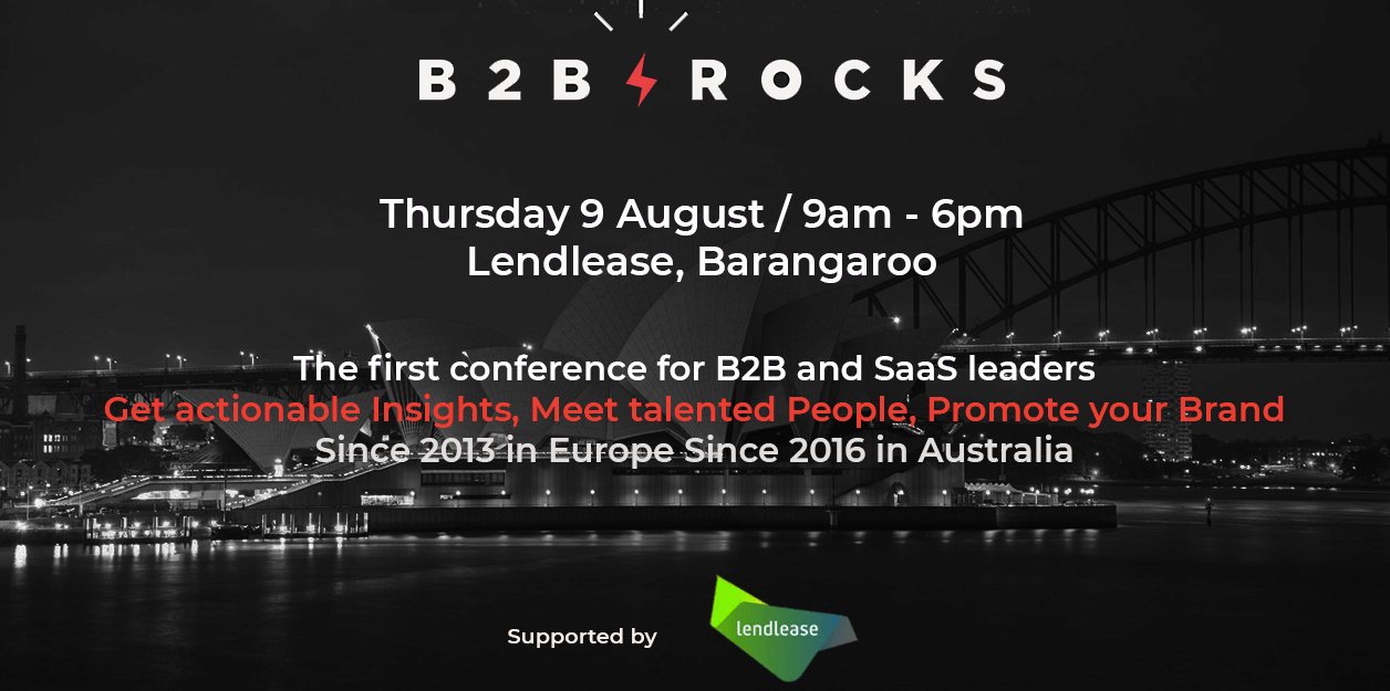 B2B rocks image muru-D community partner