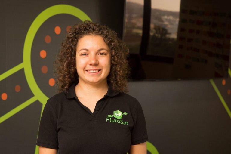 Anastasia, Co-Founder Chief Executive FluroSat