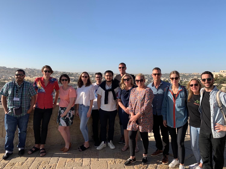 Melissa Pye in Israel